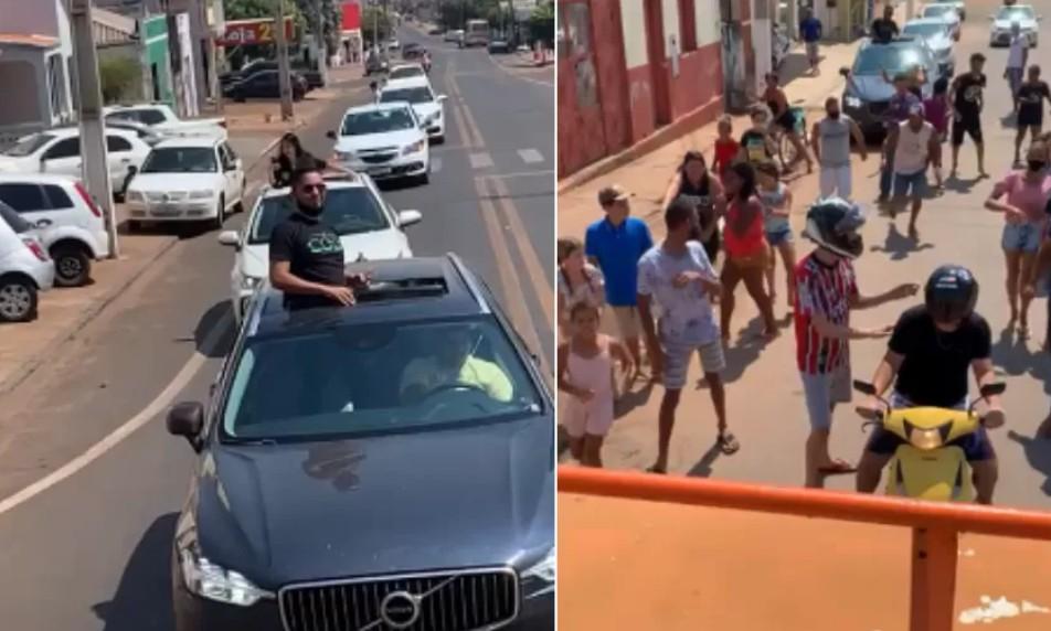 Capturar 47 - Empresário distribui R$ 10 mil nas ruas e justifica: 'dividir lucro'