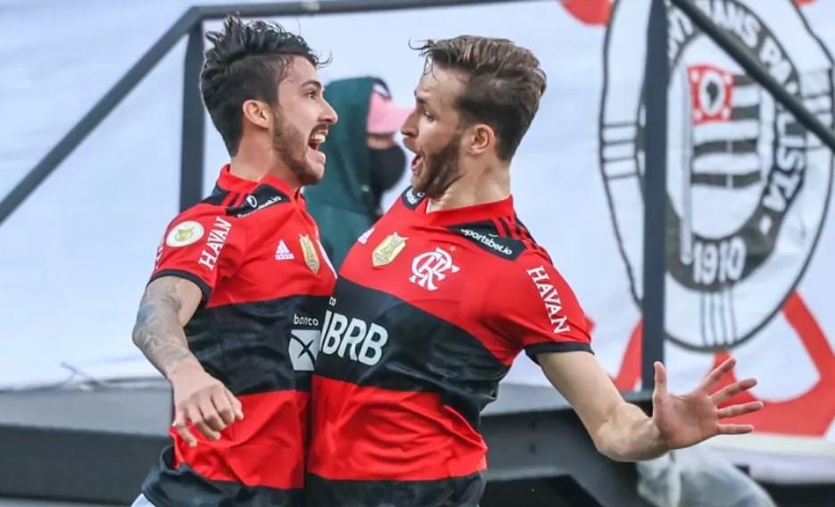 Capturar 5 - Flamengo dá show e volta a superar o Corinthians na Neo Química Arena