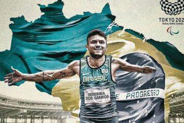 Paraibano Petrúcio Ferreira será porta-bandeira do Brasil em abertura de Jogos Paralímpicos