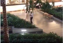 Correria e tiroteio: Mulher é morta dentro de shopping na noite desta sexta-feira – VEJA VÍDEO