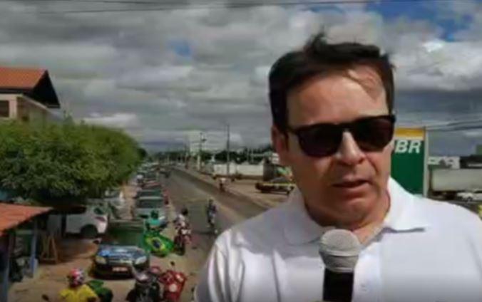 Capturar.JPGrrrrrr - Pré-candidato a deputado, juiz Ramonilson Alves apoia movimento de Bolsonaro pelo voto impresso - VEJA VÍDEO