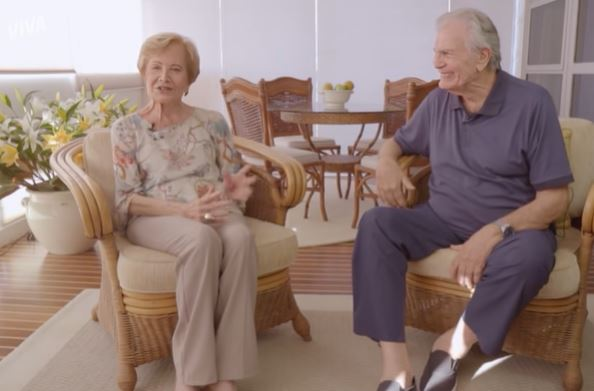 Capturar.JPGssss - Em entrevista, Glória Menezes e Tarcísio Meira fizeram declarações de amor - VEJA VÍDEO