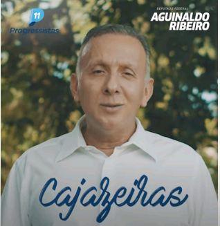 Capturarll - Aguinaldo Ribeiro parabeniza Cajazeiras pelos seus 158 anos de Emancipação e destaca parceria de resultados com gestão Zé Aldemir