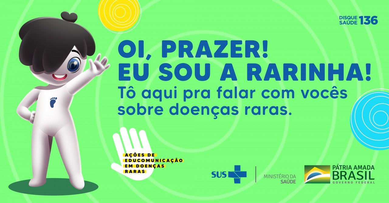 E H9W2tXoAQMJOg - Ministério da saúde lança 'Rarinha' mascote do SUS para doenças raras - VEJA