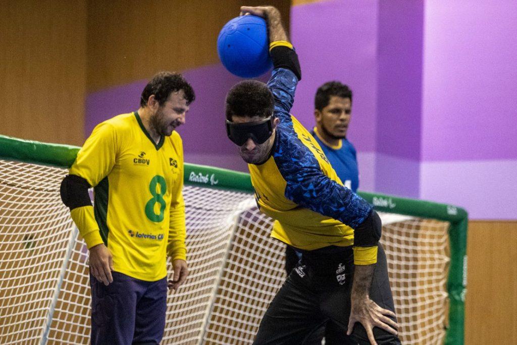 Emerson Goalball Paralimpiadas 1110x741 1 1024x684 1 - PARALIMPÍADAS: Paraíba estreia no goalball e na natação nesta terça-feira (24)
