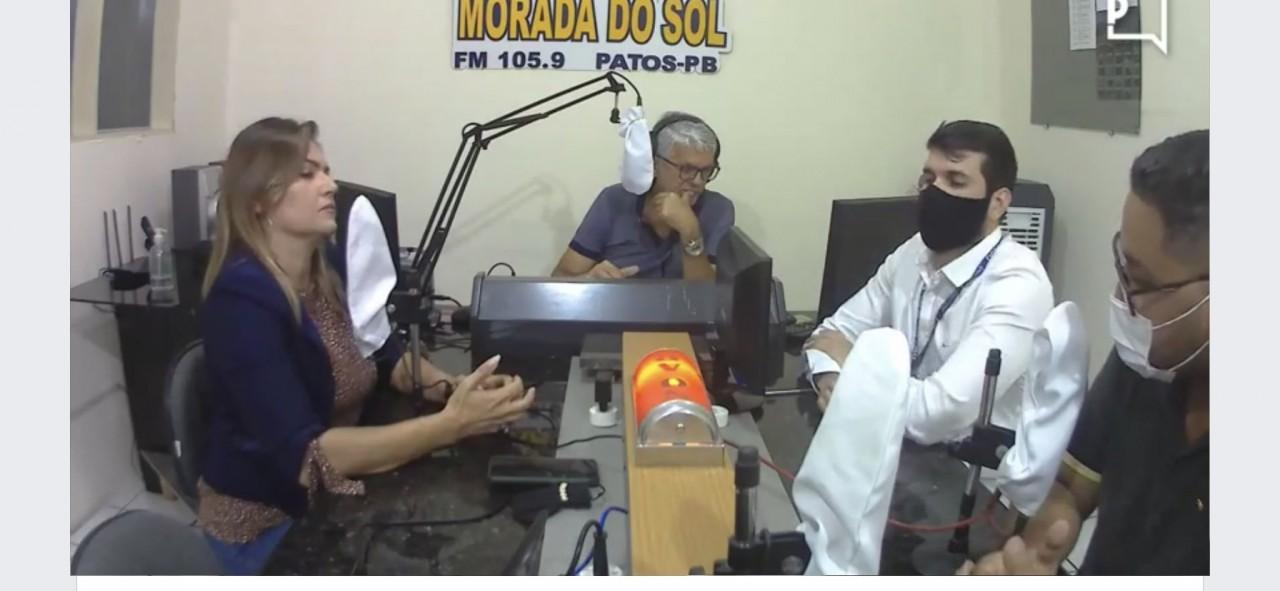 Entrevista Creci PB Patos - Creci-PB e expansão do mercado imobiliário são tema de programa de Rádio em Patos