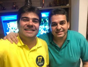 """FOTO EDUARDO CARNEIRO E FABIO CARNEIRO 300x226 - """"Tendência é acompanhar o governador"""", projeta presidente do PROS na Paraíba, Fábio Carneiro"""