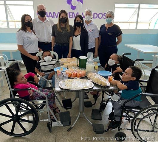 HRPI tratamento especial thumb - Hospital Regional de Princesa isabel realiza atendimento especial para quatro irmãos com doença rara