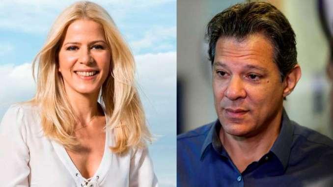 Haddad e Toller - PT e Haddad são condenados a pagar R$ 100 mil a Paula Toller