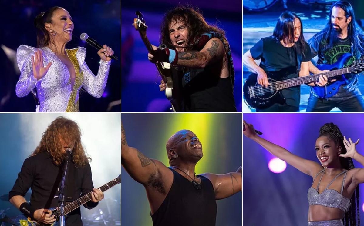 Ivete Sangalo Iza Sepultura Iron Maiden Megadeth Dream Theater - Rock in Rio terá shows de Iron Maiden, Sepultura, Iza e Ivete Sangalo em 2022