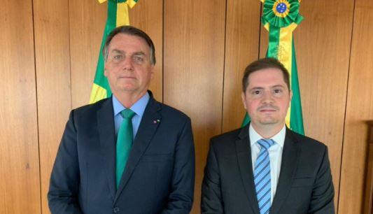 JAIR MESSIAS BOLSONARO E BIANCO - Bolsonaro anuncia Bruno Bianco como novo advogado-geral da União