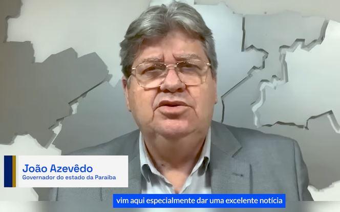 JOAO AZEVEDO - 'Principal arma é a vacina': João Azevêdo comemora 107 municípios sem óbitos por Covid-19 em julho; VEJA VÍDEO