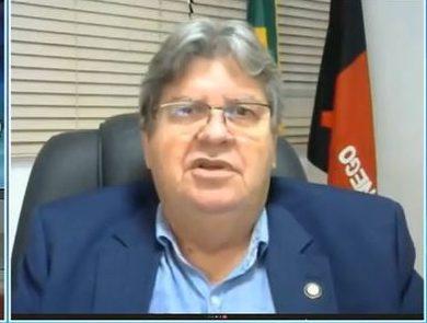 LOUCURA NUNCA VISTA JOAO e1630001783632 - 'Loucura nunca vista': João Azevêdo critica 'antecipação' de chapa para 2022 e reprova 'projetos pessoais' de aliados; VEJA VÍDEO