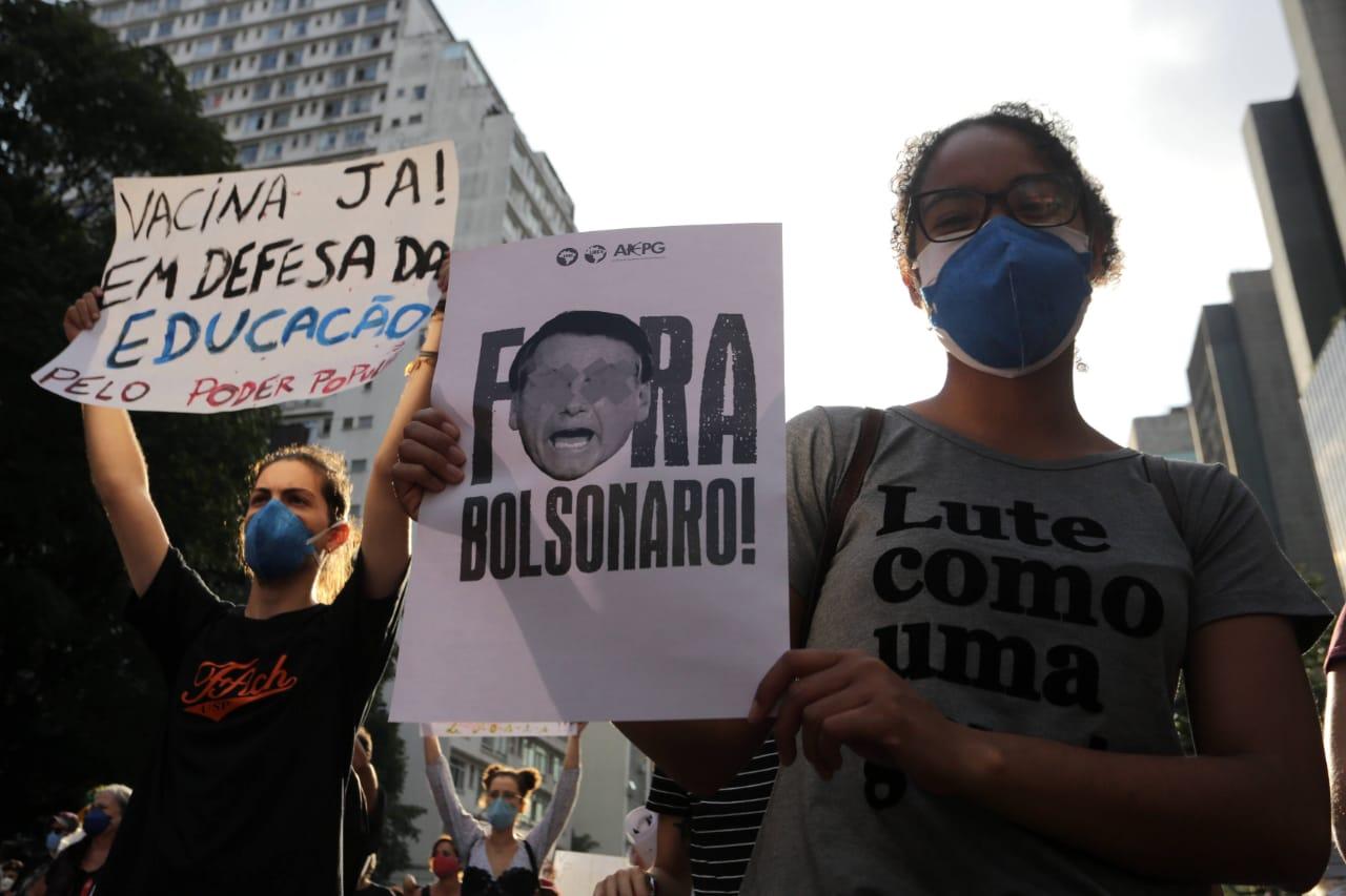 Manifestacao contra o presidente Jair Bolsonaro em Sao Paulo14 - Justiça autoriza manifestações pró e contra Bolsonaro no 7 de setembro