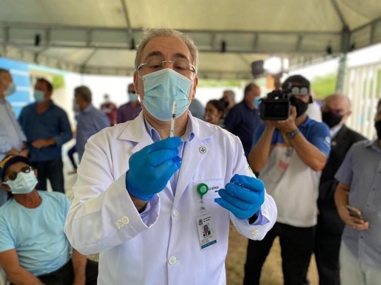 Marcelo Queiroga 2 - Queiroga: todos os brasileiros com mais de 18 anos estarão vacinados em setembro