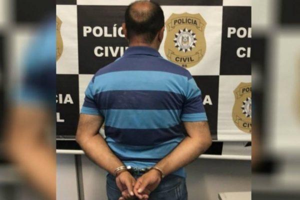 Preso pai estupro 14657093 600x400 1 - Polícia prende pai que abusou e engravidou filha de 13 anos; vítima conseguiu autorização para o aborto legal