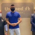 Ricardo Rocha na Unimed JP 150x150 - Unimed JP recebe visita de ex-zagueiro da Seleção Brasileira para debater parceria
