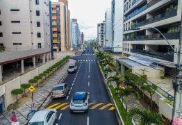 Prefeitura de Cabedelo entrega asfaltamento de avenida que compõe o binário de Intermares