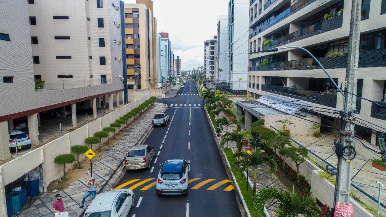WhatsApp Image 2021 08 02 at 13.44.24 - Prefeitura de Cabedelo entrega asfaltamento de avenida que compõe o binário de Intermares