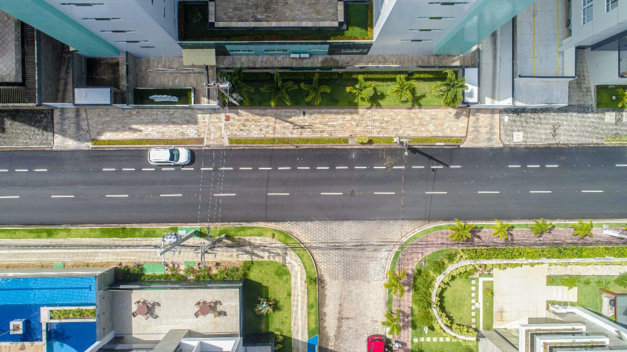 WhatsApp Image 2021 08 02 at 13.44.25 1 - Prefeitura de Cabedelo entrega asfaltamento de avenida que compõe o binário de Intermares