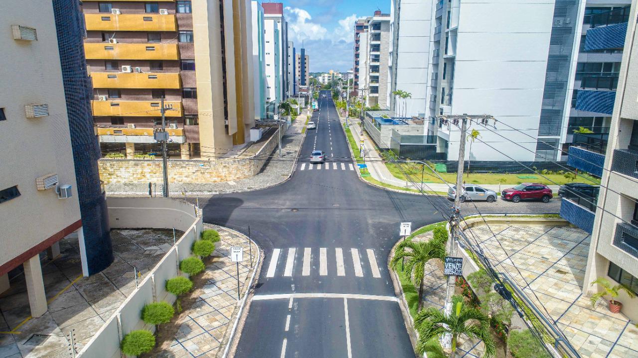 WhatsApp Image 2021 08 02 at 13.44.25 - Prefeitura de Cabedelo entrega asfaltamento de avenida que compõe o binário de Intermares