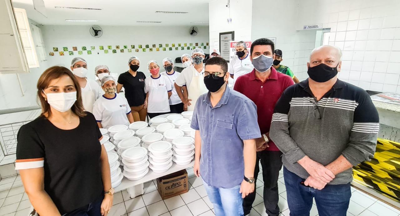 WhatsApp Image 2021 08 03 at 07.51.57 - Secretária Ana Cláudia visita Restaurante Popular do Governo do Estado em Campina e cobra da Prefeitura reabertura dos que foram fechados por Romero