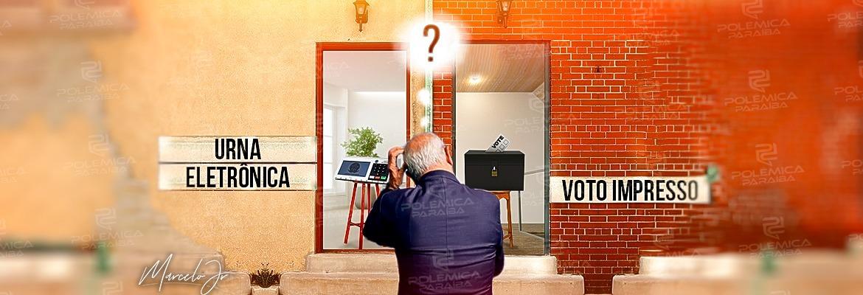 WhatsApp Image 2021 08 03 at 10.53.34 - ENQUETE: Urna eletrônica com ou sem impressão do voto, qual você prefere? - VOTE