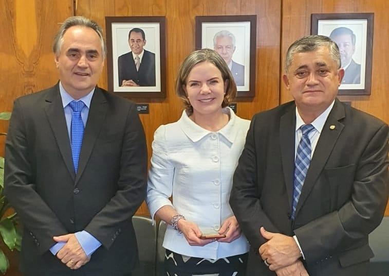 WhatsApp Image 2021 08 03 at 15.08.16 - 'AMPLIAR AS ALIANÇAS': Cartaxo se reúne com presidente nacional do PT e discute eleições na Paraíba