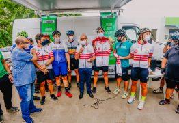 PMJP entrega ampliação de ciclofaixa e comemora com passeio inaugural na PB-008