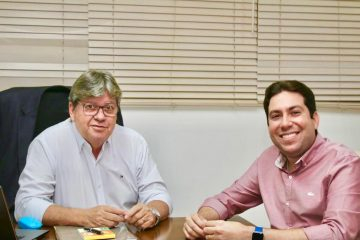 """""""O governador está credenciado para ser reeleito"""", diz Felipe Leitão ao reafirmar compromisso com reeleição de João Azevêdo"""