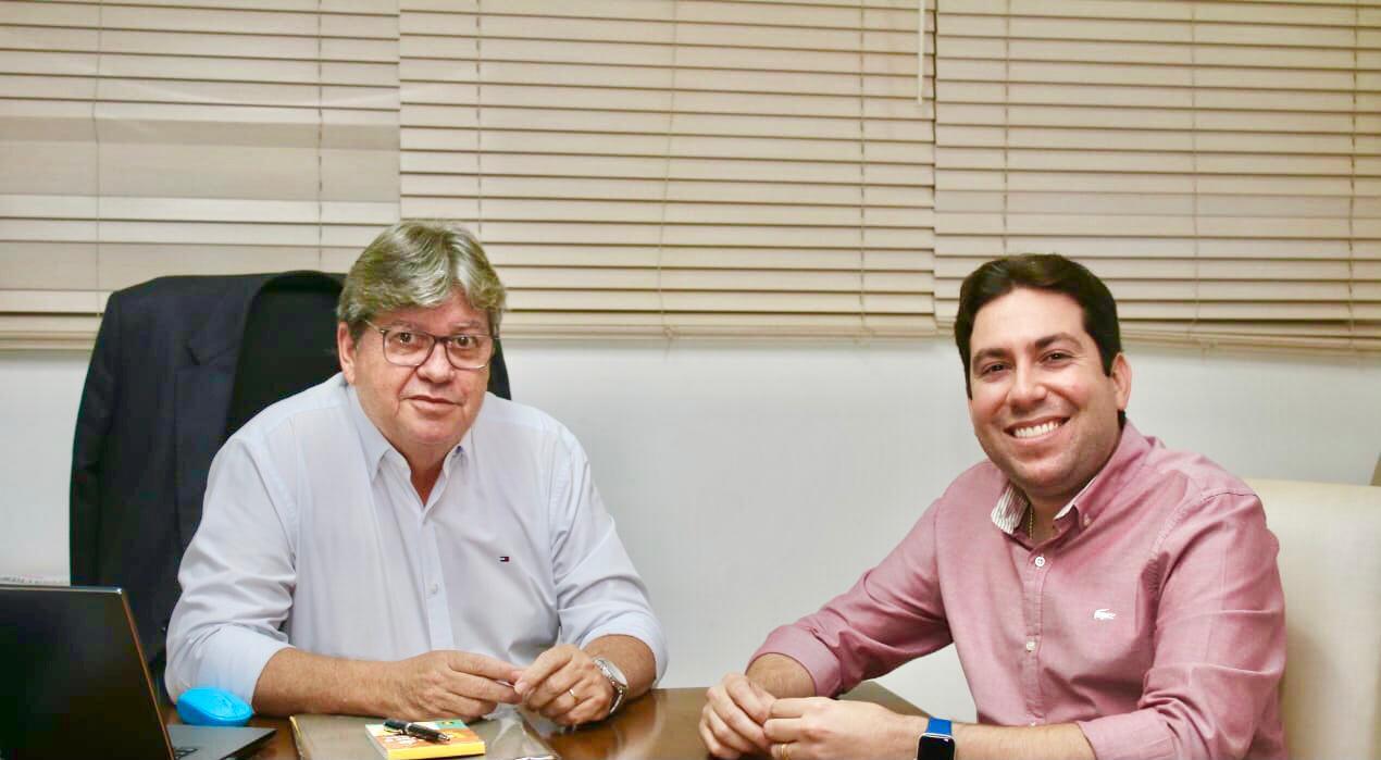 """WhatsApp Image 2021 08 05 at 09.55.18 - """"O governador está credenciado para ser reeleito"""", diz Felipe Leitão ao reafirmar compromisso com reeleição de João Azevêdo"""