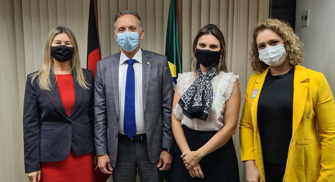 WhatsApp Image 2021 08 12 at 14.55.32 - Aguinaldo Ribeiro tem agenda intensa em Brasília em prol de mais recursos e investimentos para cidades da PB e UEPB