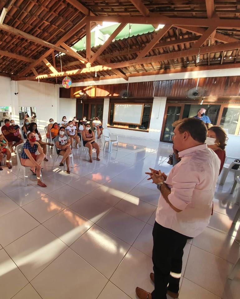 WhatsApp Image 2021 08 17 at 09.15.53 - Prefeito Chico Mendes participa de reunião de grupo de mães de crianças portadoras de necessidades especiais
