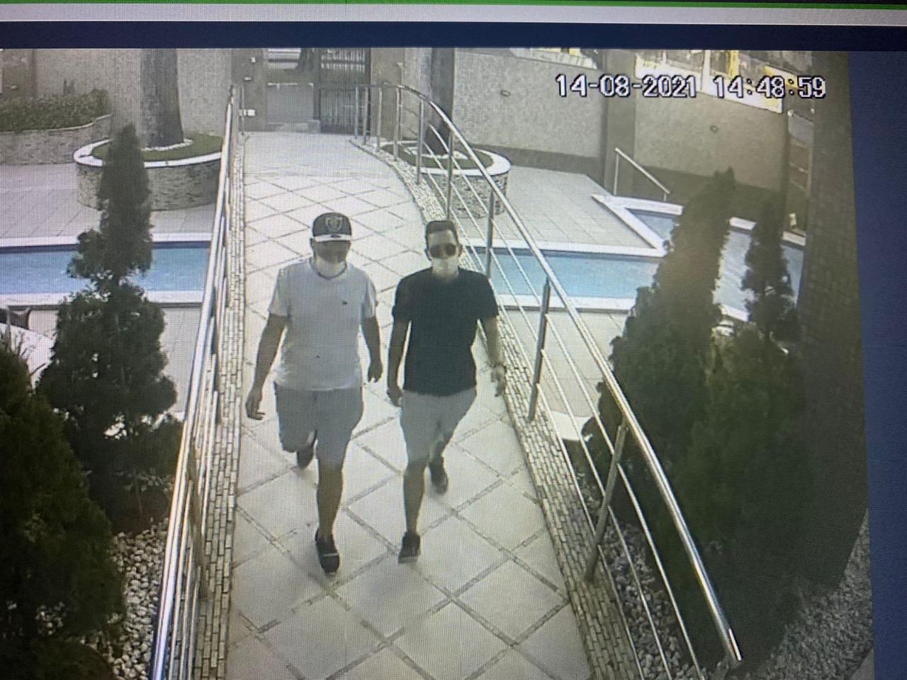 WhatsApp Image 2021 08 17 at 10.45.34 - Delegado diz que dupla que roubou mais de R$ 1 milhão de apartamento em João Pessoa agiu com frieza e ousadia
