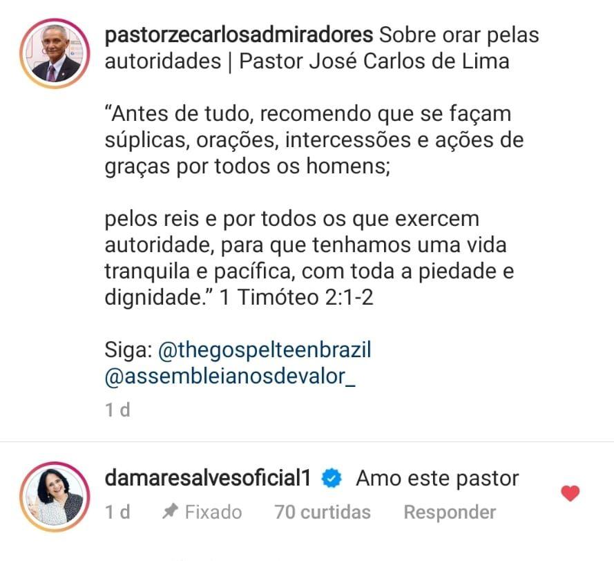 WhatsApp Image 2021 08 18 at 01.40.57 e1629336164685 - Reconhecimento: ministra Damares Alves revela admiração por pastor paraibano