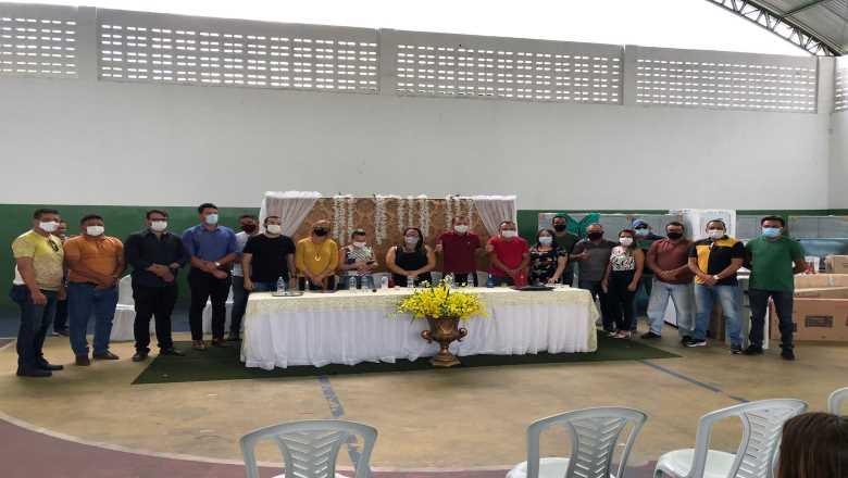 WhatsApp Image 2021 08 19 at 18.45.45 - Prefeito Chico Mendes entrega equipamentos a escolas da rede municipal em investimento de mais de R$ 500 mil