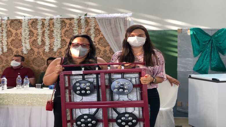 WhatsApp Image 2021 08 19 at 18.45.46 1 - Prefeito Chico Mendes entrega equipamentos a escolas da rede municipal em investimento de mais de R$ 500 mil
