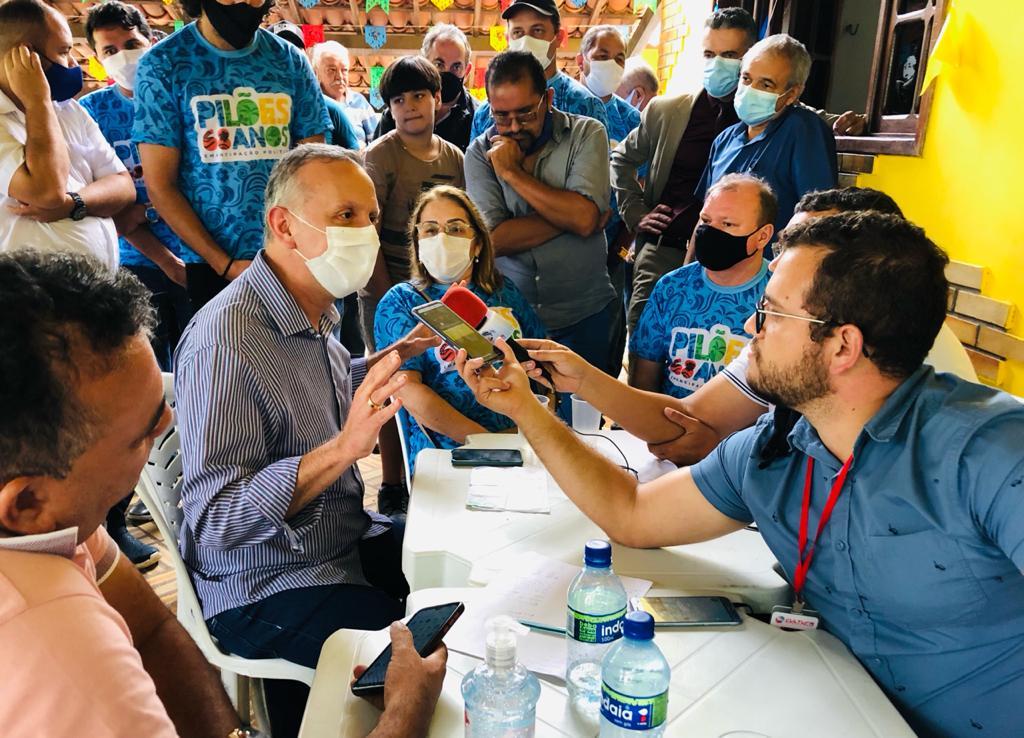 WhatsApp Image 2021 08 20 at 19.14.23 - Aguinaldo Ribeiro participa de comemorações dos 68 anos de Emancipação Política de Pilões e parabeniza avanços da gestão