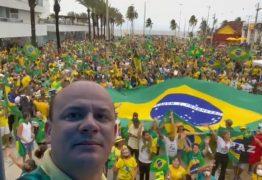Grupos de direita planejam manifestações para 7 de setembro em João Pessoa e CG; petista quer 'proibição'