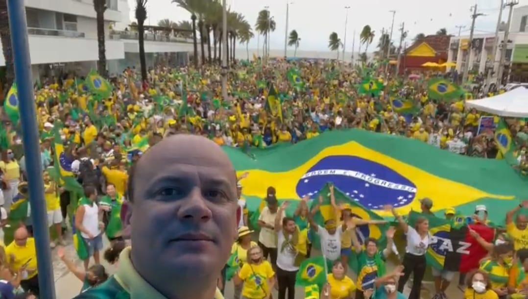 WhatsApp Image 2021 08 23 at 19.39.29 1 - Grupos de direita planejam manifestações para 7 de setembro em João Pessoa e CG; petista quer 'proibição'