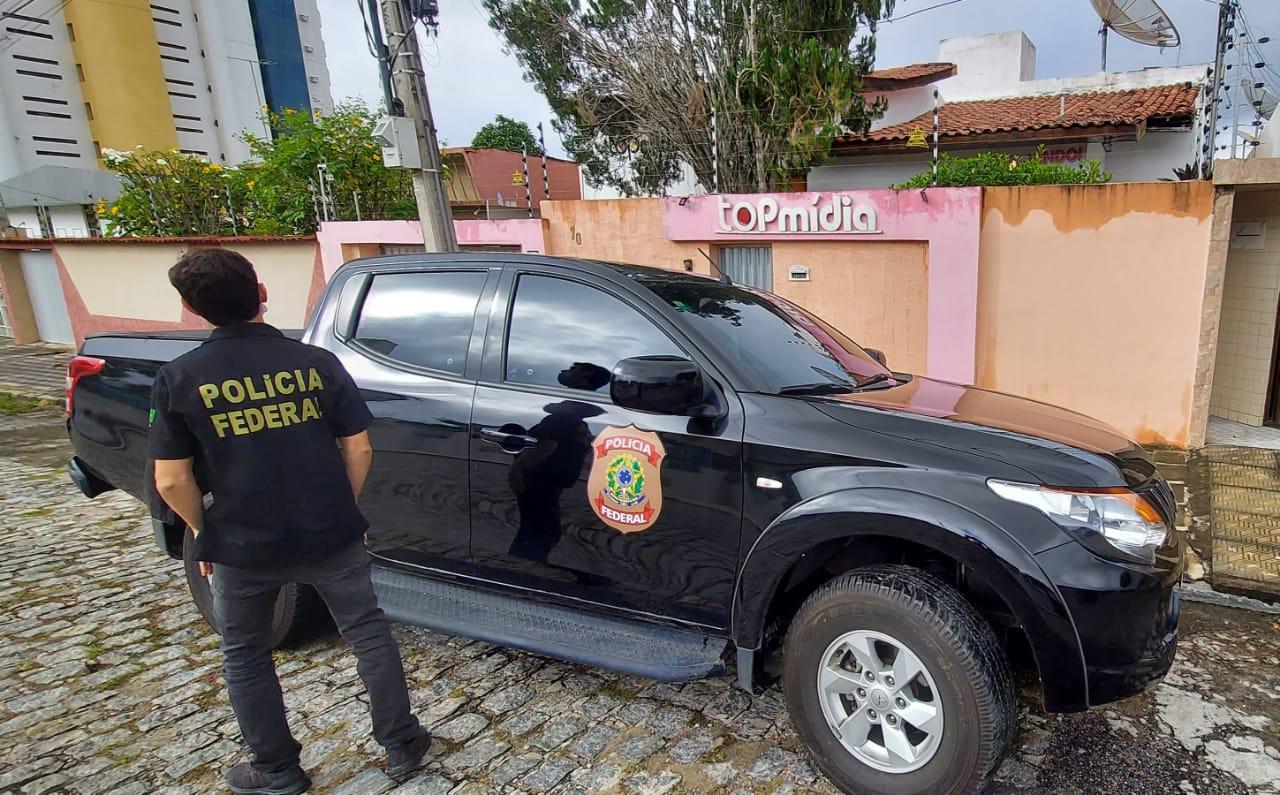 WhatsApp Image 2021 08 24 at 08.03.03 - ELEIÇÕES SUPLEMENTARES: PF cumpre mandados na cidade de Gado Bravo e na Agência TOP Mídia em CG