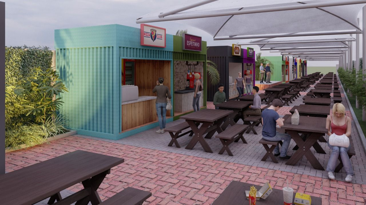 WhatsApp Image 2021 08 27 at 12.28.17 - Prefeitura de Cabedelo apresenta projeto para a criação de espaço gastronômico e de lazer no centro da cidade - VEJA IMAGENS