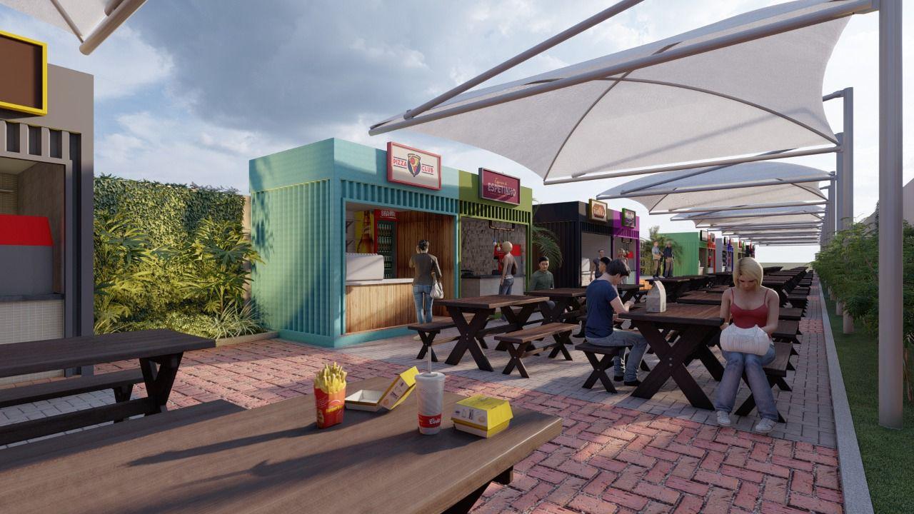 WhatsApp Image 2021 08 27 at 12.28.19 - Prefeitura de Cabedelo apresenta projeto para a criação de espaço gastronômico e de lazer no centro da cidade - VEJA IMAGENS