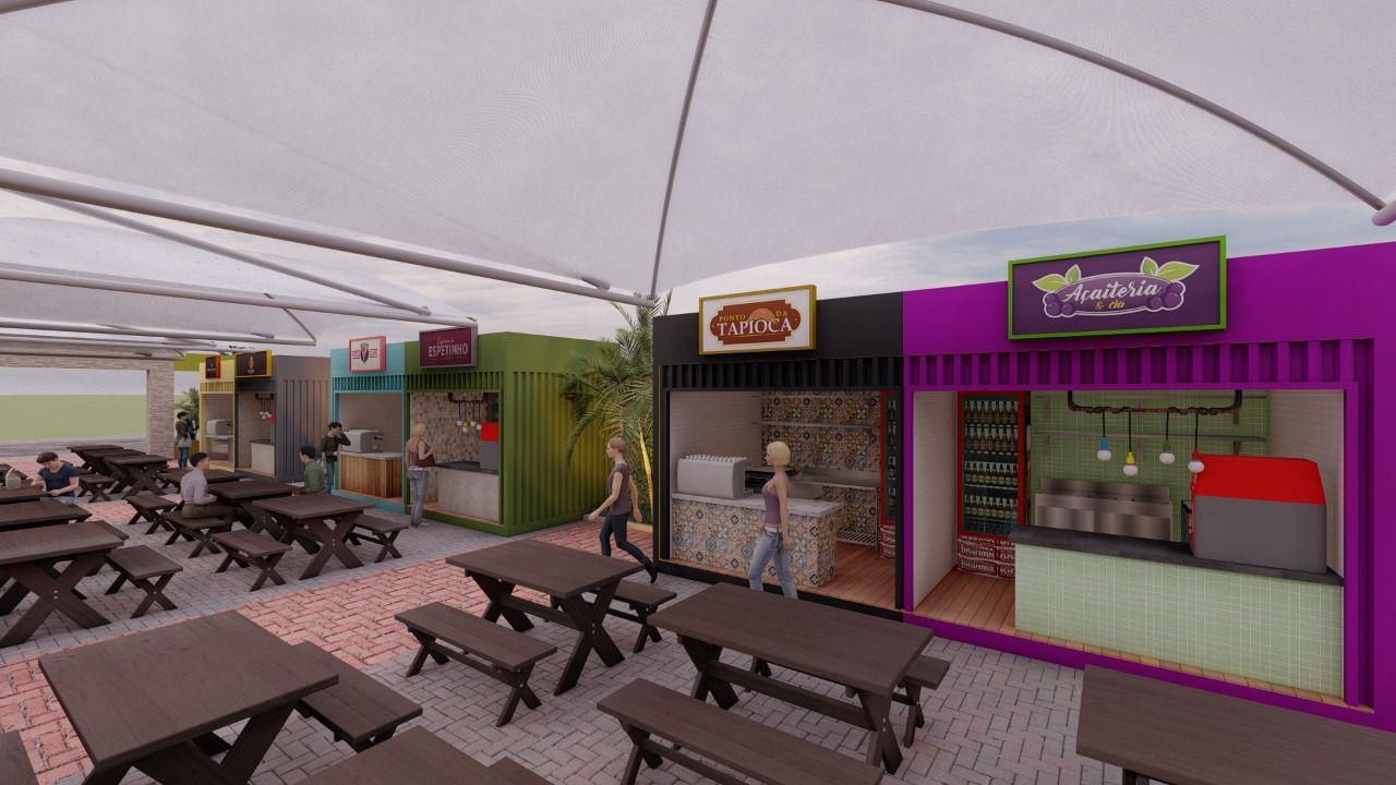 WhatsApp Image 2021 08 27 at 12.28.21 - Prefeitura de Cabedelo apresenta projeto para a criação de espaço gastronômico e de lazer no centro da cidade - VEJA IMAGENS