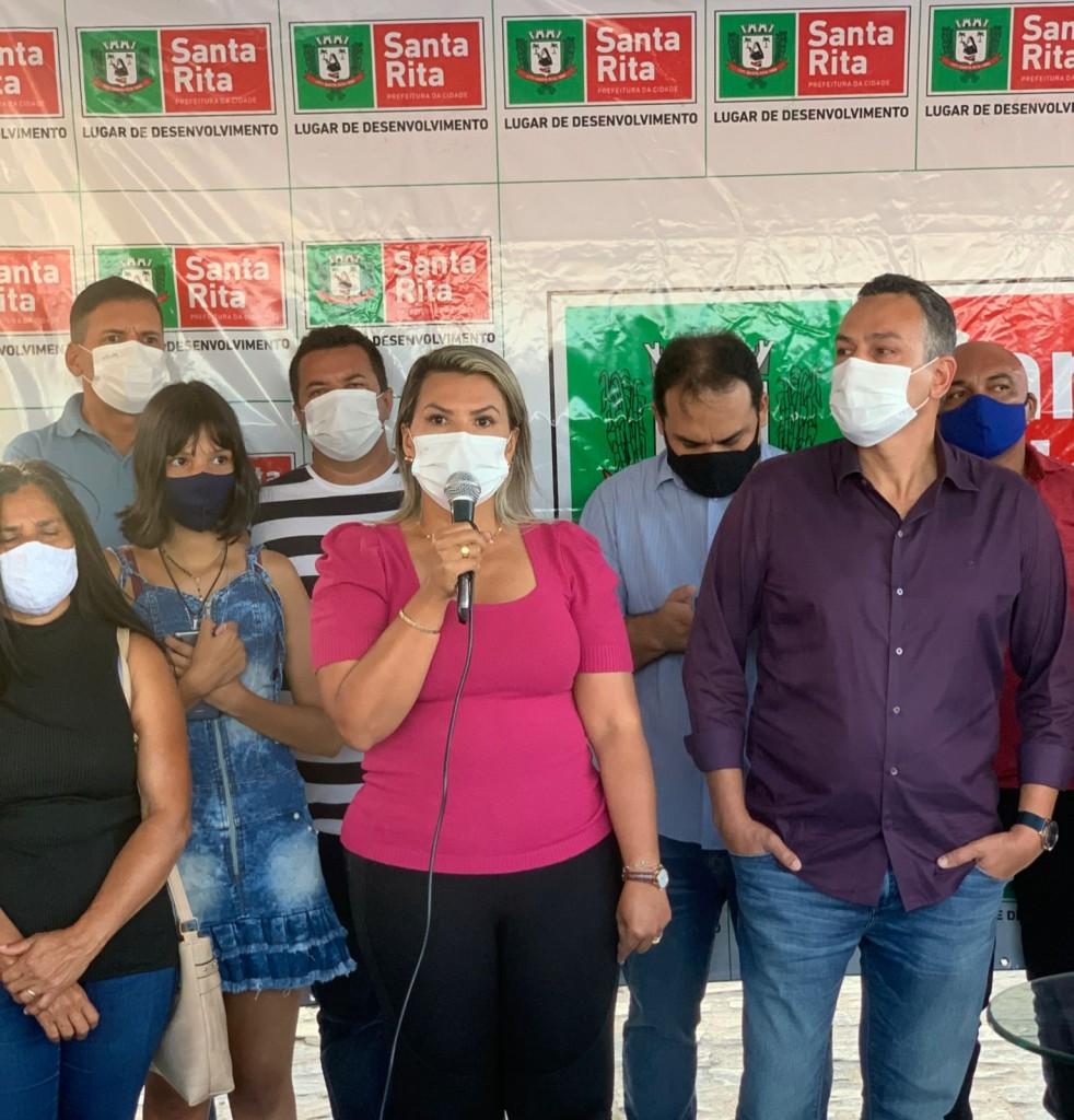 WhatsApp Image 2021 08 31 at 08.38.38 - Dra. Jane participa de ordem de serviço para construção de quadras poliesportivas em Santa Rita