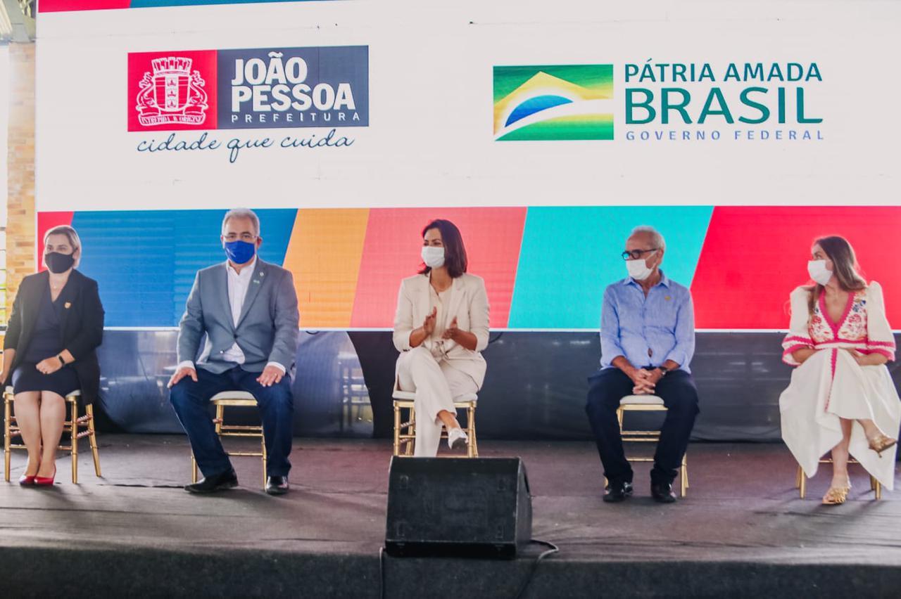 a5084be0 461b 46e4 b9e7 eed981d92e59 - Em João Pessoa, Queiroga diz que continuará trabalhando para tornar o país mais inclusivo e primeira dama fala que o compromisso é para que todos estejam visíveis na sociedade