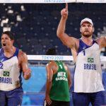 alison e alvaro 150x150 - Paraibano Álvaro Filho vence novamente e dupla avança para quartas de final no vôlei de praia