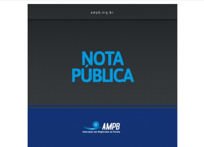 ampb - Após ataques ao STF, juízes da Paraíba publicam nota em defesa da independência judicial