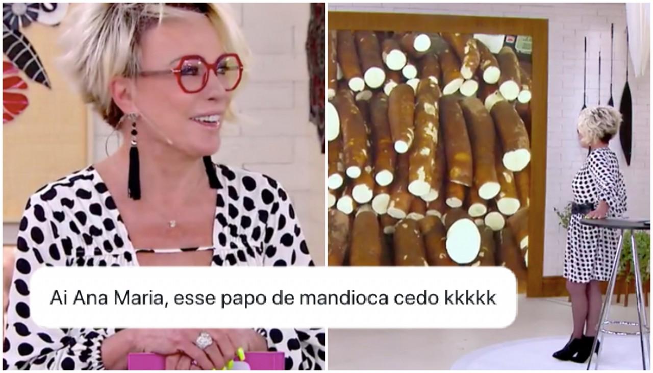 ana maria mandioca 2 0821 1400x800 0 - Ana Maria Braga elogia 'mandiocão' de vendedor e vira meme na internet - VEJA VÍDEO
