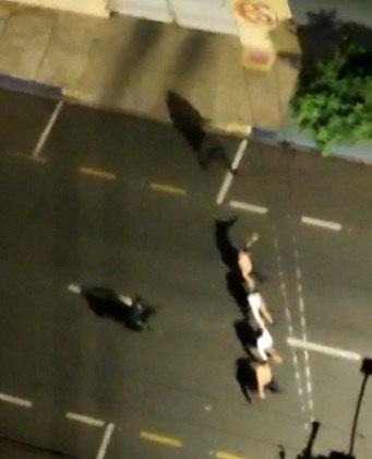 assalto a banco em aracatuba 30082021085203115 - TERROR EM ARAÇATUBA: Criminosos usaram drones para monitorar ataques a bancos e realizar fuga